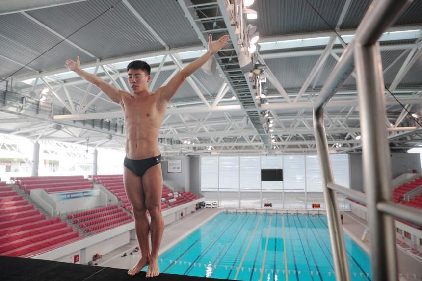Jonathan Chan is the first Singaporean to feature in the sport at the Olympics.