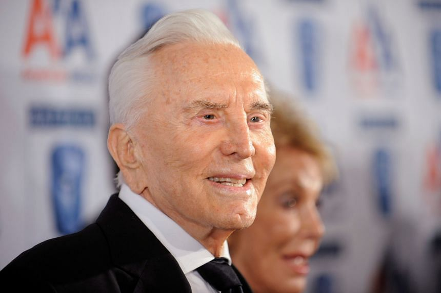 US actor Kirk Douglas was renowned for the macho and not-always-likeable tough guy roles he took on in around 90 movies over a six-decade career.