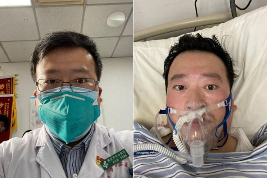 Dr Li Wenliang had been admitted to a hospital in early January and later confirmed to have the coronavirus, according to a post on his social media account.