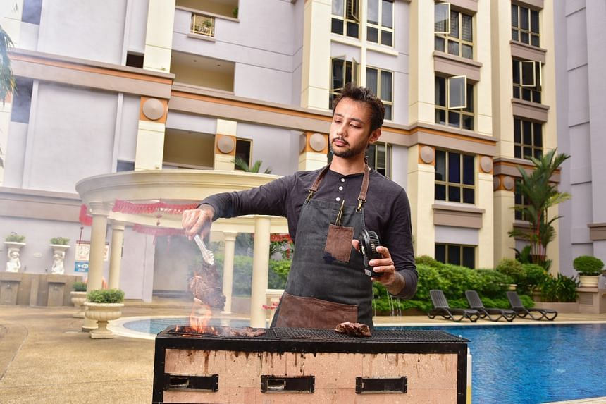 Meat lovers, fancy a roaring barbecue in the background of your romantic meal for two, in your own home? Chef Sam Chablani can deliver the magic right to your doorstep.