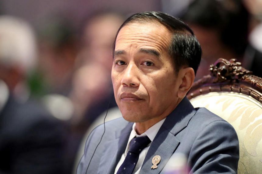 In a photo taken on Nov 3, 2019, Indonesian President Joko Widodo attends an Asean leaders summit in Bangkok.