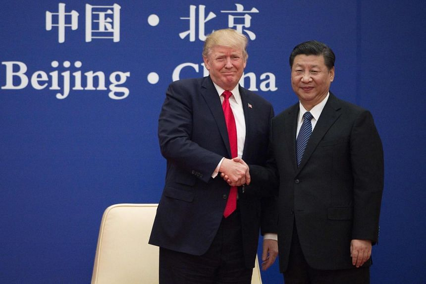 """Chinese President Xi Jinping told US President Donald Trump that Beijing has """"spared no effort in fighting the epidemic""""."""