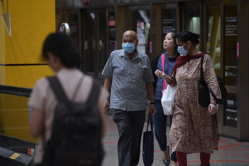 Those who are unwell should stay at home. If they must go out, they should wear a mask and avoid coming into close and sustained proximity with others.
