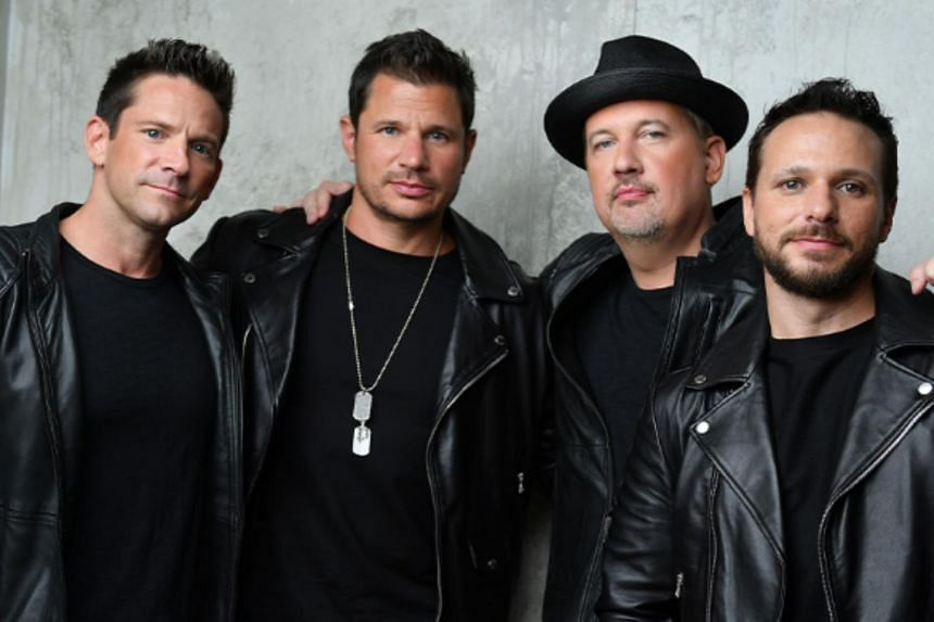 The postponed show would have been the first time all four members - brothers Nick and Drew Lachey, Jeff Timmons and Justin Jeffre - are performing in Singapore together.