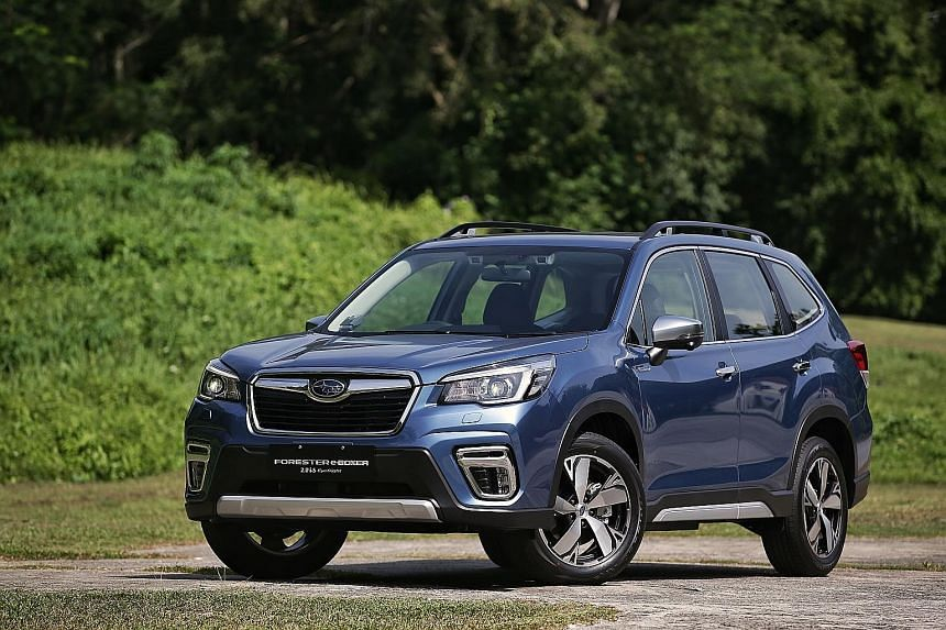 The Forester e-Boxer is a wonderful car to drive, with a top-notch ride quality and competent handling.
