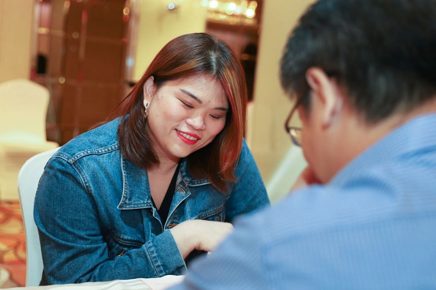 Ms Alis Khoo, 36, senior accounts assistant and participant of a DNA-based dating event.