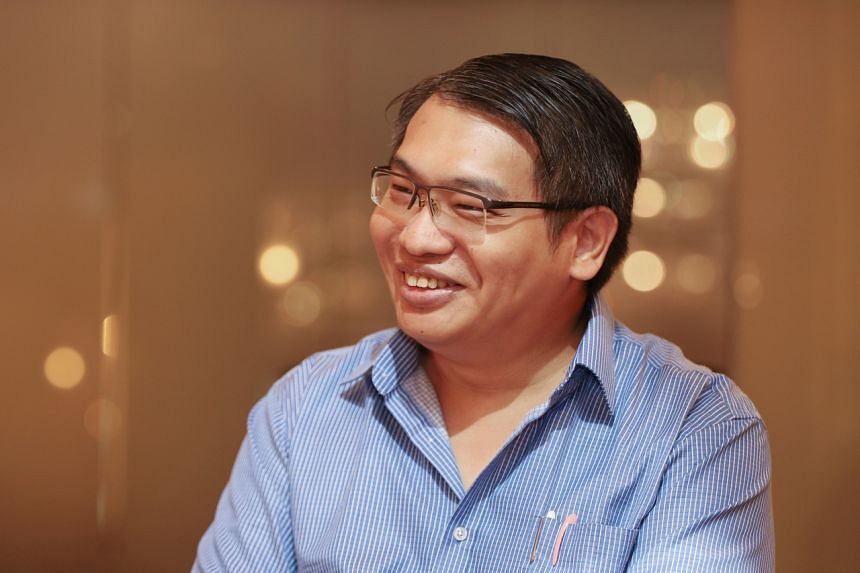 Mr Samuel Lai, 36, engineer and participant of a DNA-based dating event.