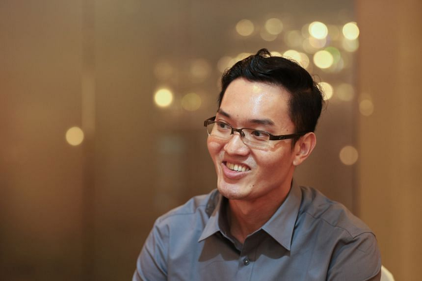 Mr Elvin Fu, 36, engineering specialist and participant of a DNA-based dating event.
