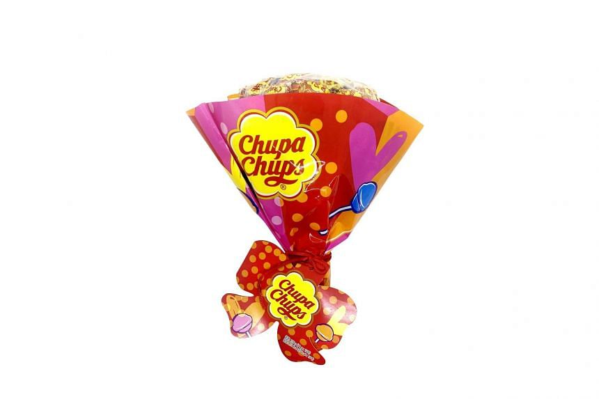 Get a bouquet of Chupa Chups lollipops from Foodpanda's recently launched pandanow service.