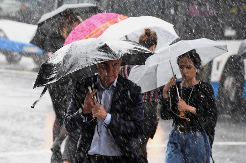 Australia has been hit in recent weeks by wild weather that has brought heavy downpours, hail storms and a heat wave.