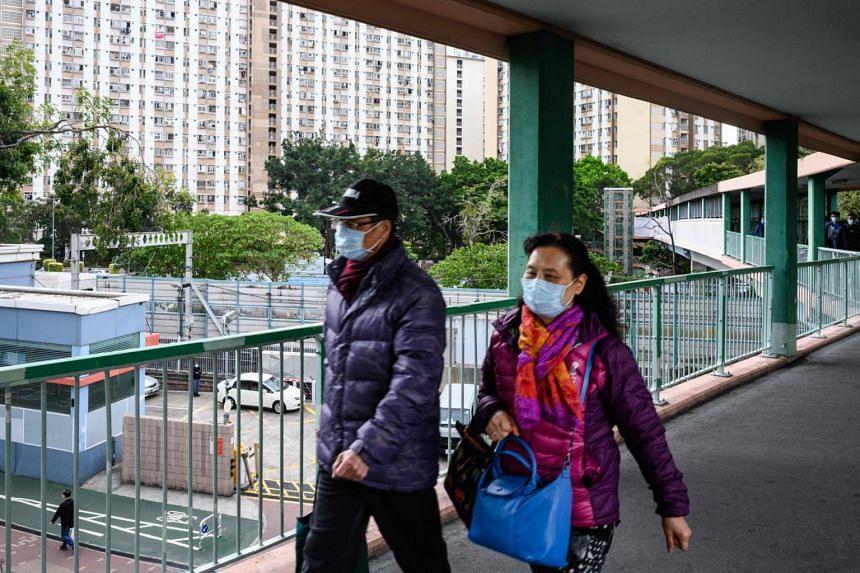 Hong Kong began enforcing a mandatory two-week quarantine for anyone arriving from mainland China, on Feb 8, 2020.