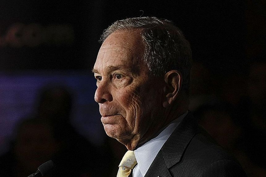 Mr Michael Bloomberg's ads and war chest boosted his visibility.