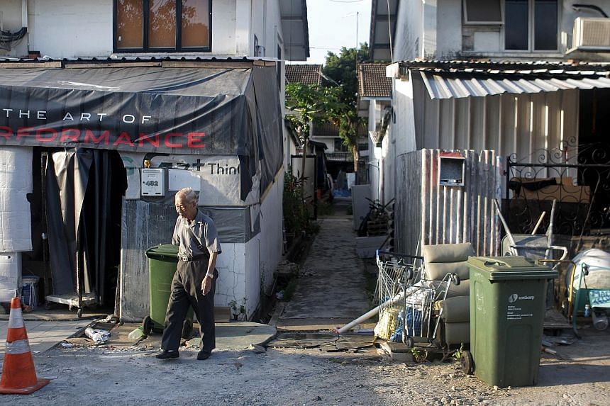 The 60-year leases on all 191 terrace houses at Geylang Lorong 3 will expire at the end of the year. The land on which they now sit is slated for public housing, a Singapore Land Authority spokesman said.