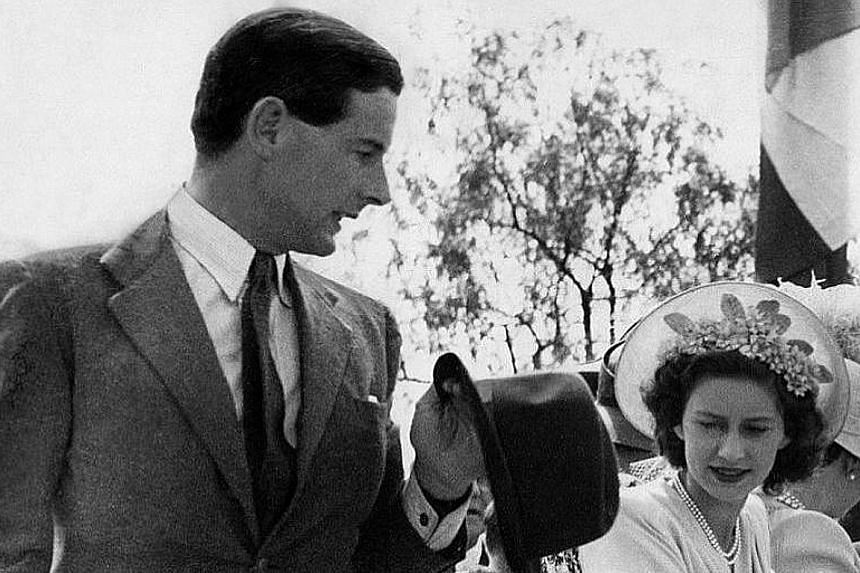 Group Captain Peter Townsend and Princess Margaret.