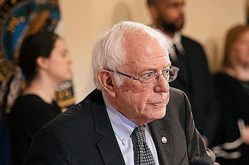 Mr Bernie Sanders has the strongest following among young voters.