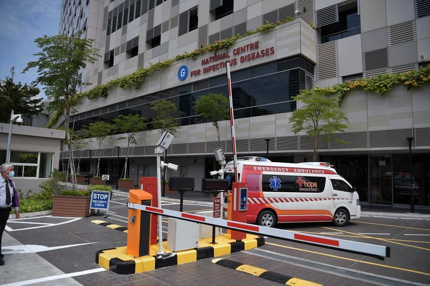 The National Centre for Infectious Diseases at Tan Tock Seng Hospital. The total number of coronavirus cases in Singapore has grown to 40.