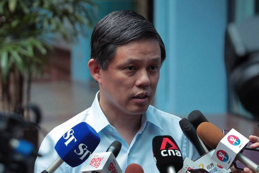 """""""Internally we will make sure that our processes are strengthened and our people involved all these know their roles well,"""" said Minister-in-charge of the Public Service Chan Chun Sing."""