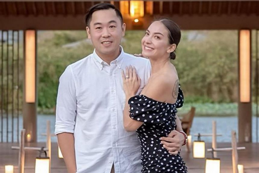 Singaporean actress Ase Wang announced her engagement to Jon Lor, co-founder and managing director of the Wonderfruit lifestyle festival.