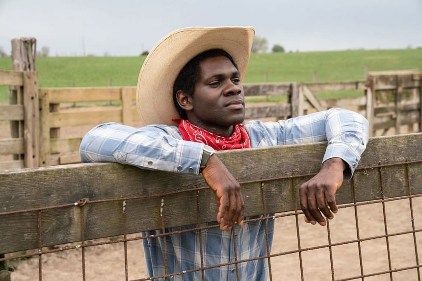 One episode tells the true story of a lonely immigrant from Nigeria (played by Conphidance) who finds an emotional connection to his new home through cowboy culture.