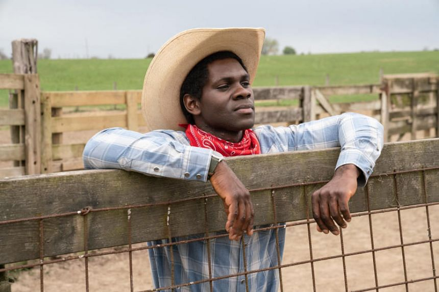 One episode of Little America features a Nigerian immigrant, played by Conphidance, who struggles to fit in, but eventually finds an emotional connection in cowboy culture.