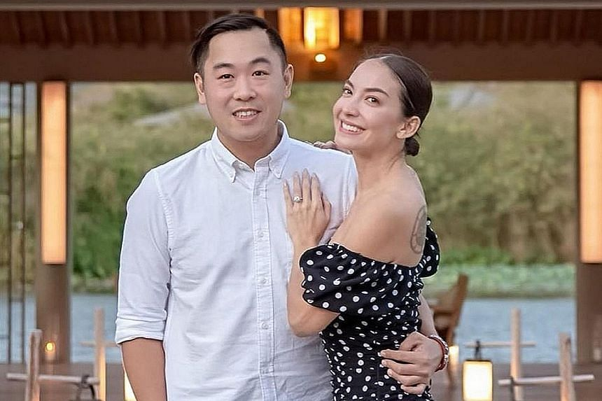 """WEDDING BELLS: Singaporean actress Ase Wang opened up to The Straits Times in November last year about her decision to freeze her eggs, adding that """"I'm very particular about whom I want to spend the rest of my journey with"""". The 38-year-old, who is"""
