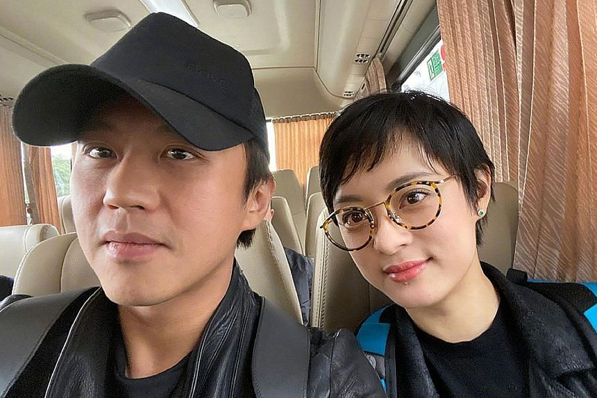 Actress Mia Chiu and actor Jun Fu in a scene in Taiwanese TV serial Golden City. Netizens said the 300,000 yuan donation by power couple Deng Chao and Sun Li was a small sum considering the amount they earn.