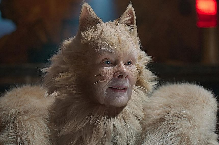 Dame Judi Dench (above) received a Razzie acting nomination for her role in Cats, along with James Corden, Rebel Wilson and Francesca Hayward.