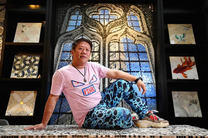 GF+A Projects' Mr Andy Lim has not been able to confirm the delivery of tiles from China and wonders if he should commit to several commercial projects.