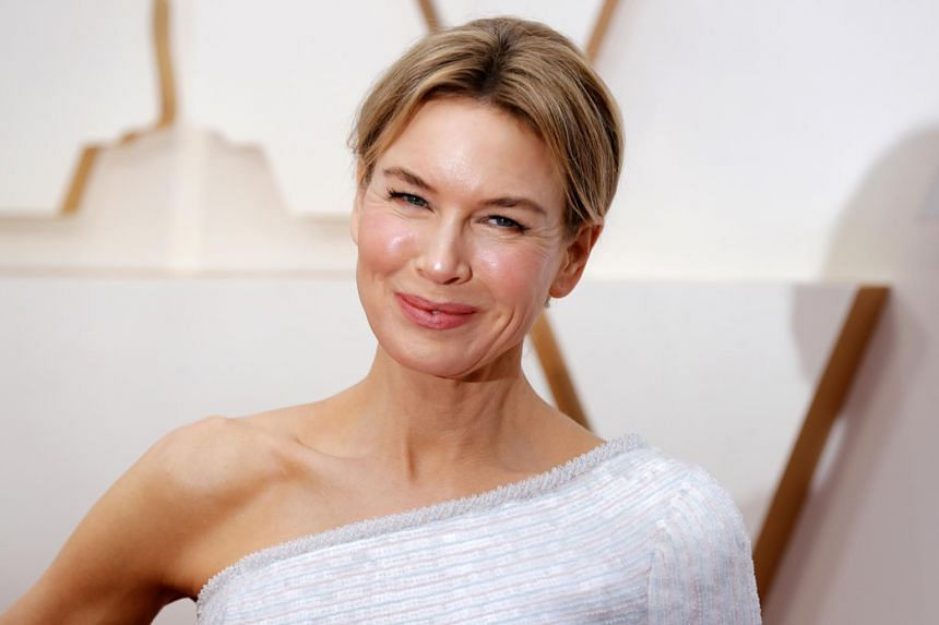 Renee Zellweger arrives for the 92nd annual Academy Awards ceremony in Hollywood, on Feb 9, 2020.