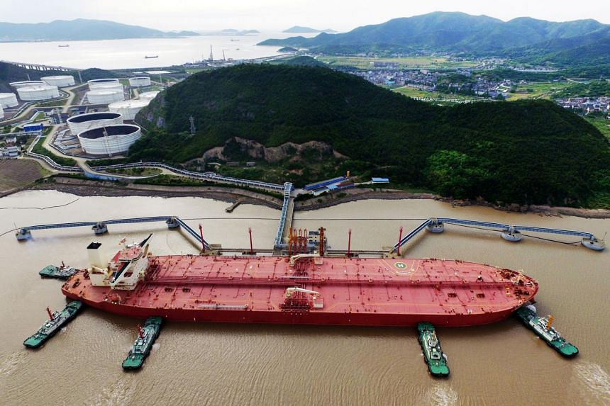 Supertankers transporting 2 million-barrel cargoes of crude have collapsed about 95 per cent from their high point last year.