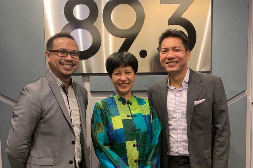 Appearing in this Money FM podcast is Indranee Rajah (centre), Minister in the Prime Minister's Office and Second Minister for Finance and Education, as she goes in depth with Elliott Danker (left) and Ryan Huang (right) on what to expect from Budget