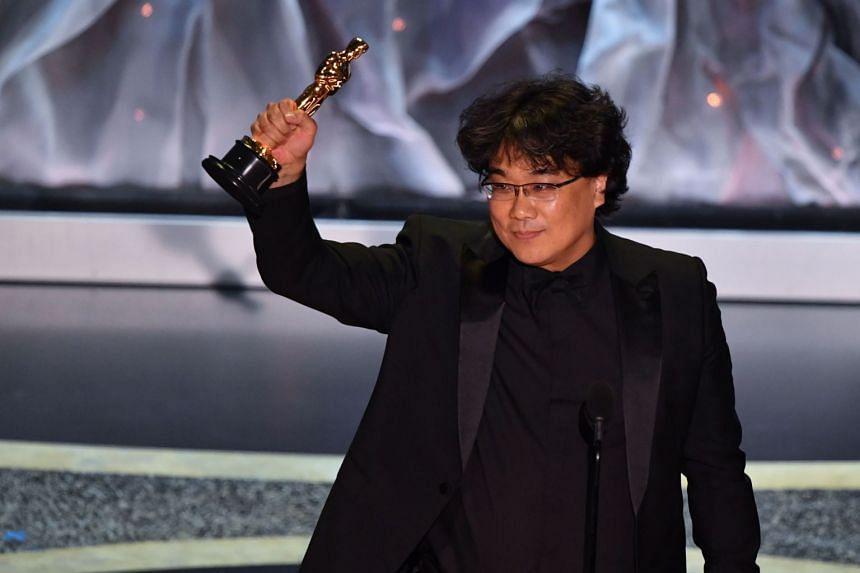 South Korean Bong Joon-ho beat Hollywood veterans including Martin Scorsese and Quentin Tarantino.