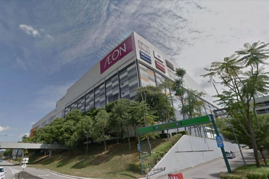The Aeon Tebrau City mall in Johor Baru. While there were some reports of Singaporeans sweeping supermarket shelves in JB, Malaysians and Singaporeans in the city said the numbers were normal for a weekend.