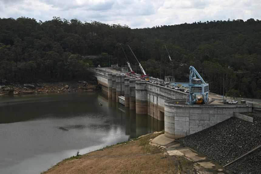 Dam levels across greater Sydney have risen by more than 20 per cent amid heavy weekend rainfall.