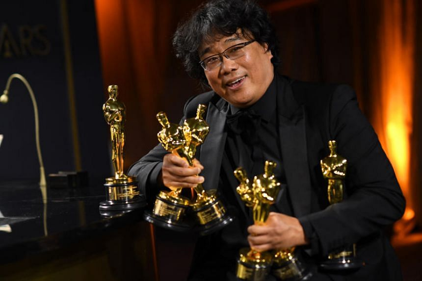Bong Joon-ho's  Parasite (2019), a satirical take on the class divide, is the first ever Asian film to win the Best Picture award.