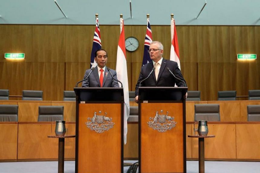 Indonesian President Joko Widodo signed a free trade deal with Prime Minister Scott Morrison in Canberra after the parliaments of both countries ratified the pact.