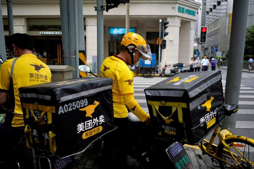Meituan Dianping is seeking four billion yuan, partly to help finance free food and delivery to medical staff in Wuhan.