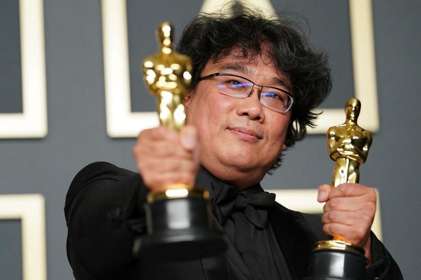 Parasite won a total of four Oscars, including Best Director and Original Screenplay for Bong Joon-ho.