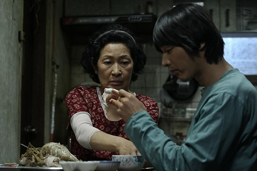 The works of South Korean director Bong Joon-ho include (clockwise from main picture) Mother (2009), The Host (2006) and Okja (2017).