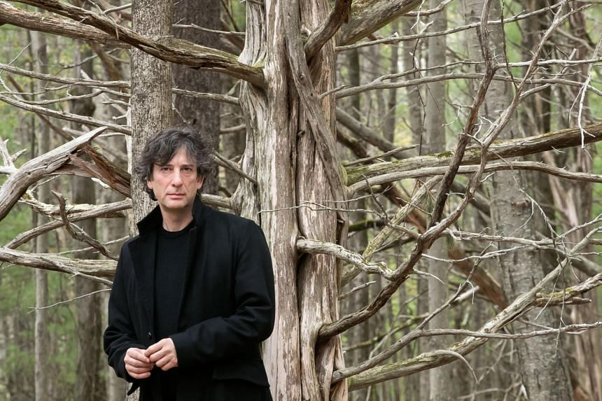 Neil Gaiman (above) wrote and produced the television version of the 1990 fantasy novel Good Omens which he co-wrote with Terry Pratchett.