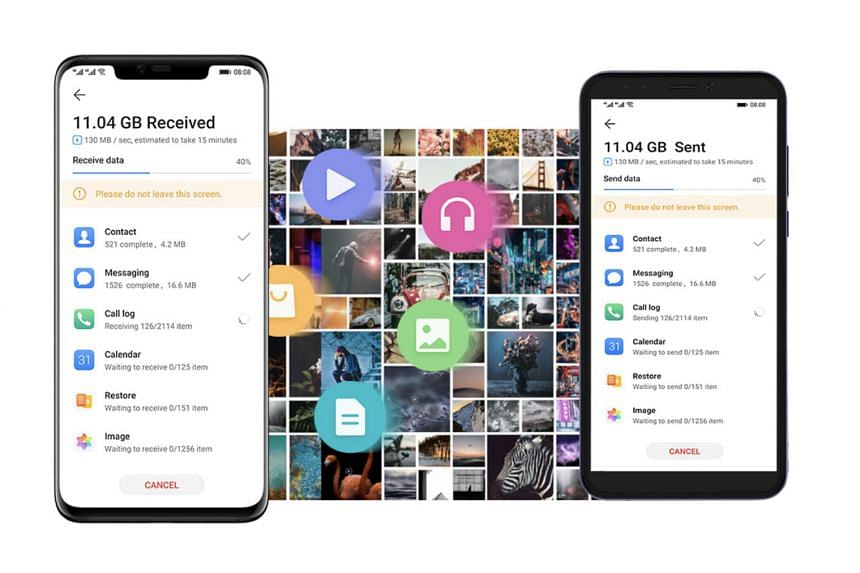 Huawei has created the Phone Clone app to help users move the apps on their old smartphones to the Mate 30.