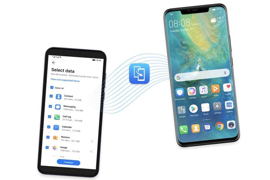 Users can clone most of the apps on their old Android smartphone on the new Mate 30 or Mate 30 Pro smartphone with the Phone Clone app.