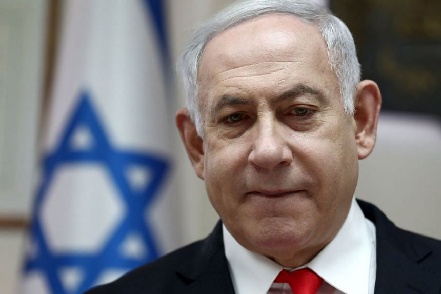 The security lapse was tied to a mobile app used by Prime Minister Benjamin Netanyahu (above) and his Likud party to communicate with voters.