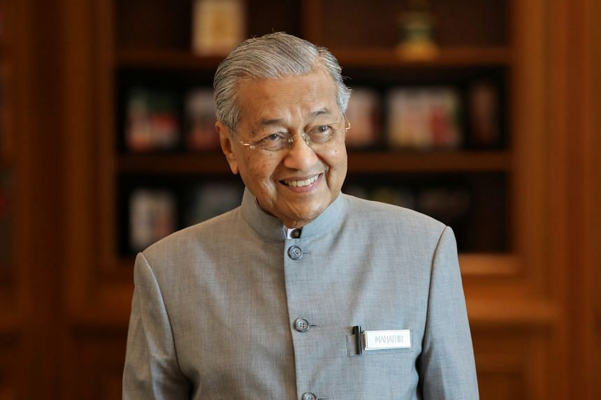 In a picture taken on Jul 15, 2019, Malaysia's Prime Minister Mahathir Mohamad speaks during a news conference in Putrajaya, Malaysia.
