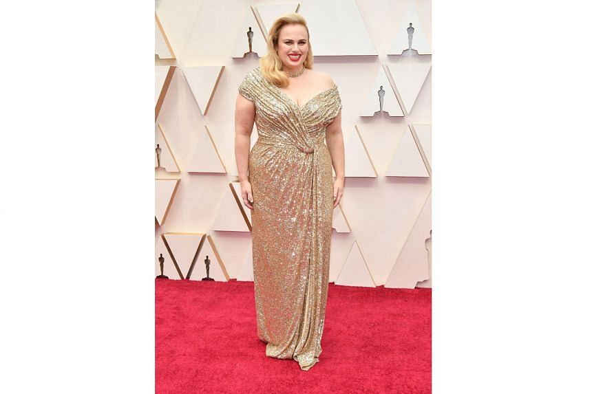 FLORENCE PUGH: Little Women's Amy, Pugh turned heads in a tiered teal Louis Vuitton dress and matching heels. Not bad for an Oscar debut. CYNTHIA ERIVO: Best Actress nominee for her portrayal of political activist Harriet Tubman in biopic Harriet, Er