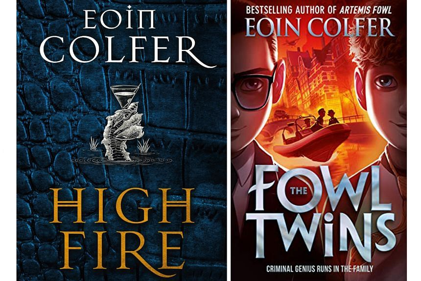 Highfire and The Fowl Twins by Eoin Colfer.