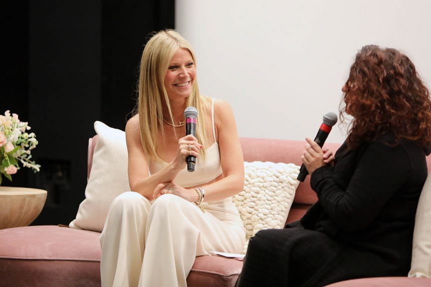 Actress Gwyneth Paltrow at a special screening of The Goop Lab in Los Angeles.