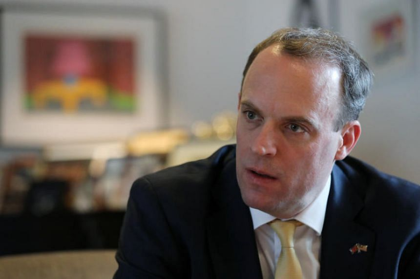 """British Foreign Secretary Dominic Raab said Britain would want to be """"as closely aligned with Malaysia as possible"""" as it seeks access to the Comprehensive and Progressive Agreement for Trans-Pacific Partnership."""
