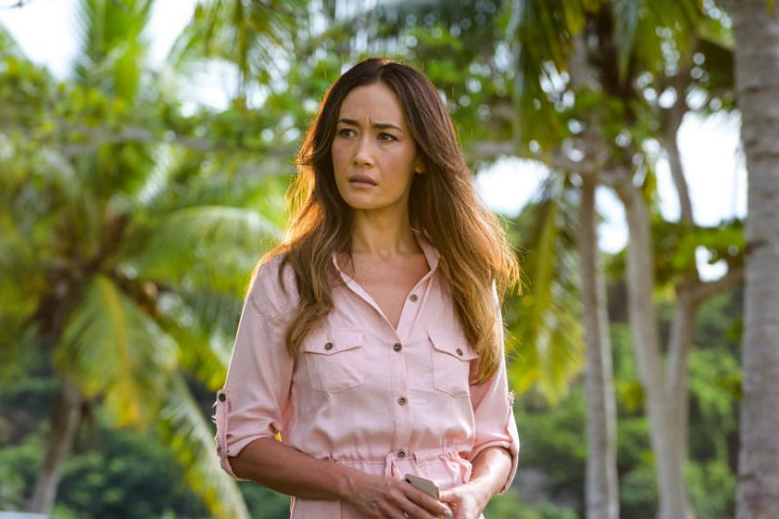 Maggie Q is part of a racially diverse cast fronting the new horror-fantasy film Fantasy Island.