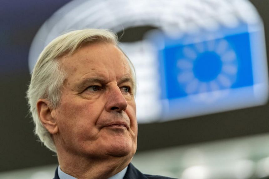 European Union's Chief Brexit negotiator Michel Barnier said there will be no general, global or permanent equivalence on financial services.